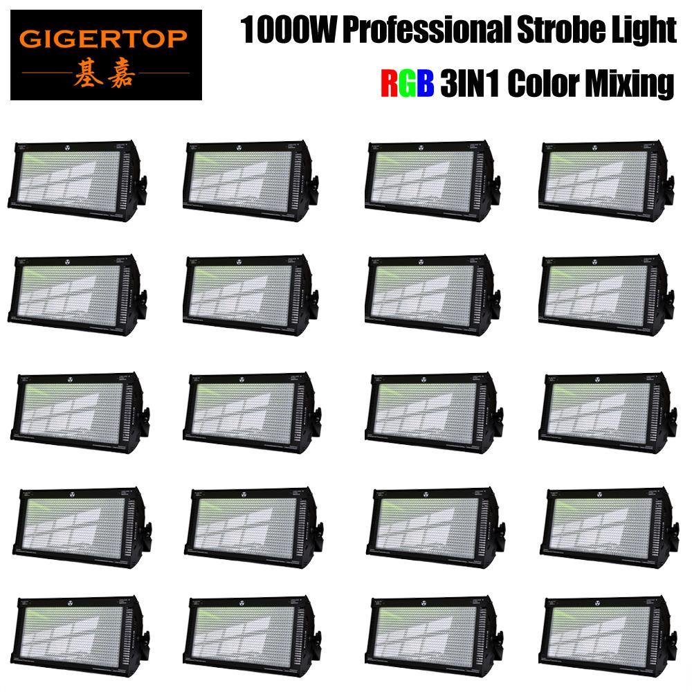 Novo Chegado LED 1000W Light Strobe RGB e cor branca para discoteca DJ Pub de casamento festa strobe luz led flash luz