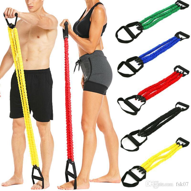 70CM مرونة العصابات المقاومة اليوغا سحب حبل اللياقة البدنية تجريب الرياضة المطاط الشد المتوسع اللثة elastica kg-680