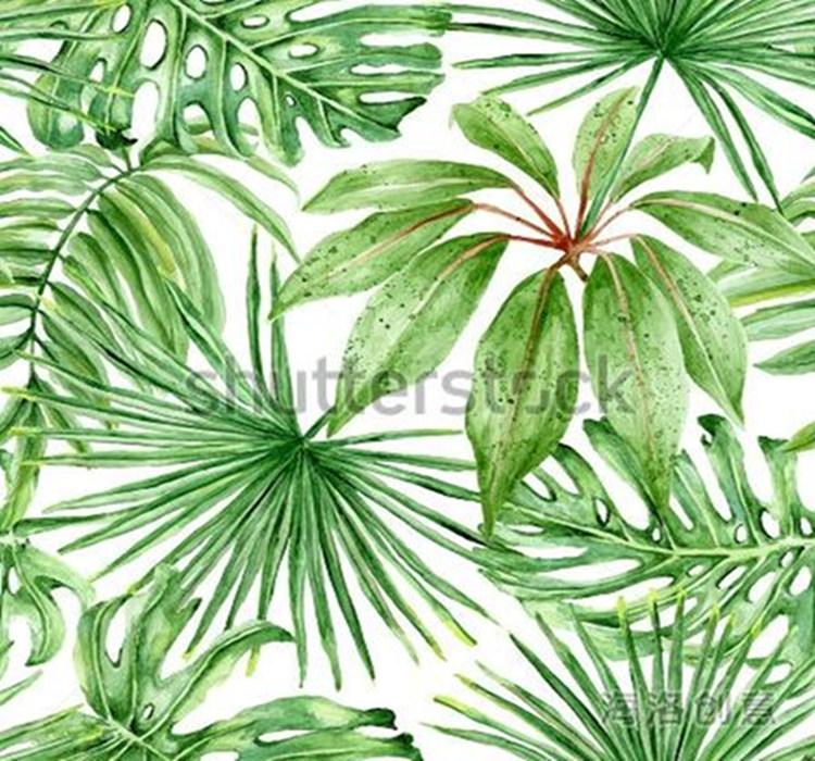 Green Tropical Leaves Poster Mural Wallpaper For Living Room Wall Decoration Wholesale Discount Wallpapers Wallpaper Hd For Desktop Widescreen Wallpaper Hd Hd From Goodok4 133 46 Dhgate Com Green leaf on white sand during daytime. dhgate com