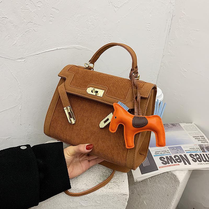 Velocidad de las mujeres de la moda 2021 Minority Hand Pony French Kelly Bag Square Iviks