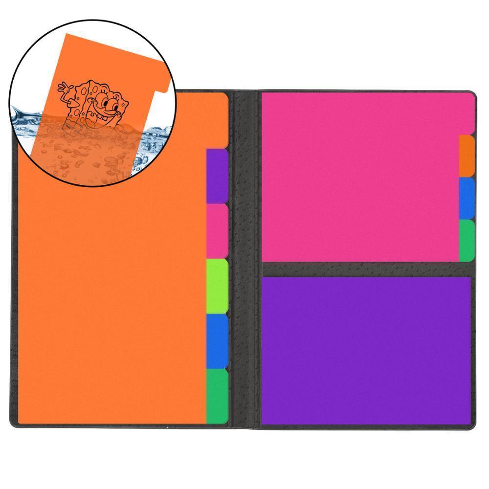 الملونة reusable لزجة ملاحظة مذكرة مذكرة الوسادة kawaii يوميات المرجعية دفتر لطيف القرطاسية مدرسة مكتب اللوازم diy مخطط ملصق 201016