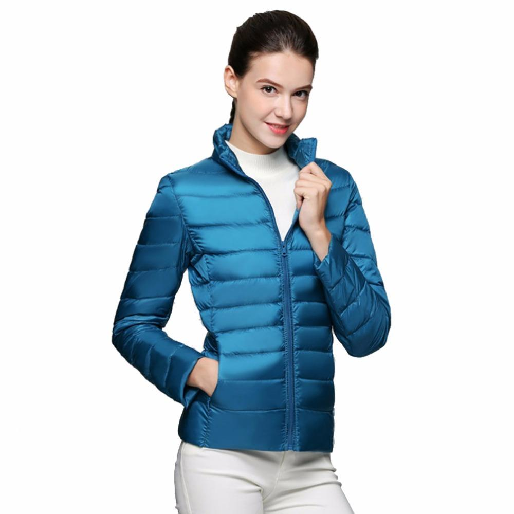 2020 invierno 2020 femenino abrigo ultra luz 90% chaqueta blanca pato de pato abrigos cálidos abrigos de primavera de primavera Hunv