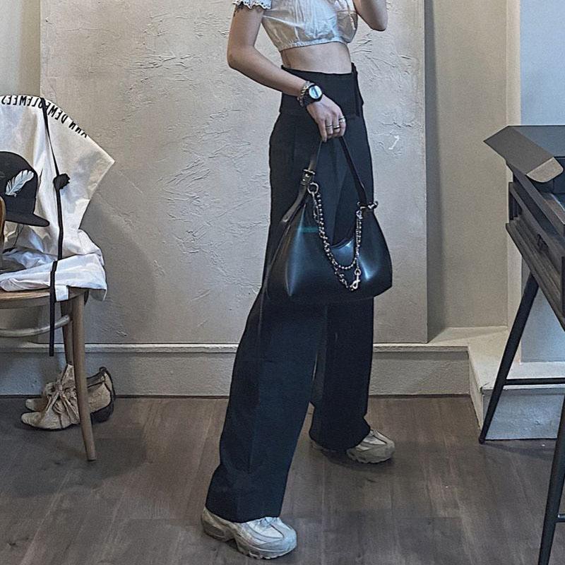 Borsa ascellare HBP Borsa borsa da borsetta Retro Punk Cool Girl Designer Fashion Donne Borse in pelle Borse di alta qualità Personalità Trendy