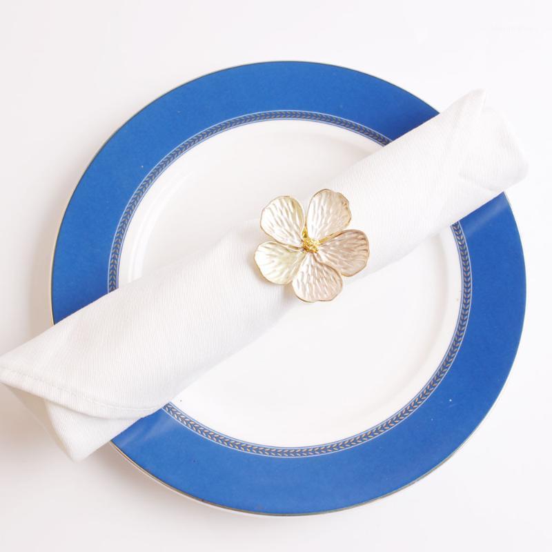 12pcs nuovo fiore tovagliolo anello tovagliolo anello flower towel1