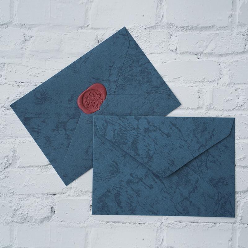 50pcs / set C6 Buste retrò di alta qualità resistenti all'usura di C6 per invito a nozze, lettera di invito cartolina Buste di abbinamento1