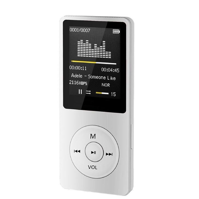 1.8 polegadas Moda Frivolous MP3 portátil 4 Player 2020 Universal 70 horas Long Time Tela LCD Música Mídia Rádio FM Vídeo Filme