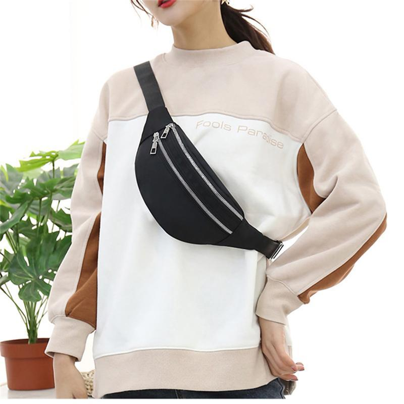 2020 Nuevo paquete de fanny para las mujeres bolsas de cintura impermeable para mujer Señoras Moda Bolsa Bolsa de Cross Bolsas de Cross Bolsa Unisex Hip Bag