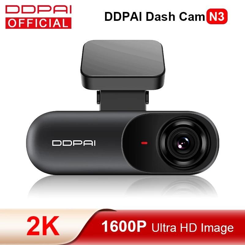 DDPAI DASH CAM MOLA N3 voiture DVR 1600P HD GPS Drive Vidéo Vidéo DVR 2K Android WiFi Smart Connectez Connectez votre caméra de caméra de voiture 24h Parking