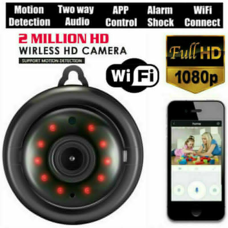 Mini sem fio WiFi IP Câmera HD 1080P Smart Home Security Câmera Night Vision para Baby Home Safy
