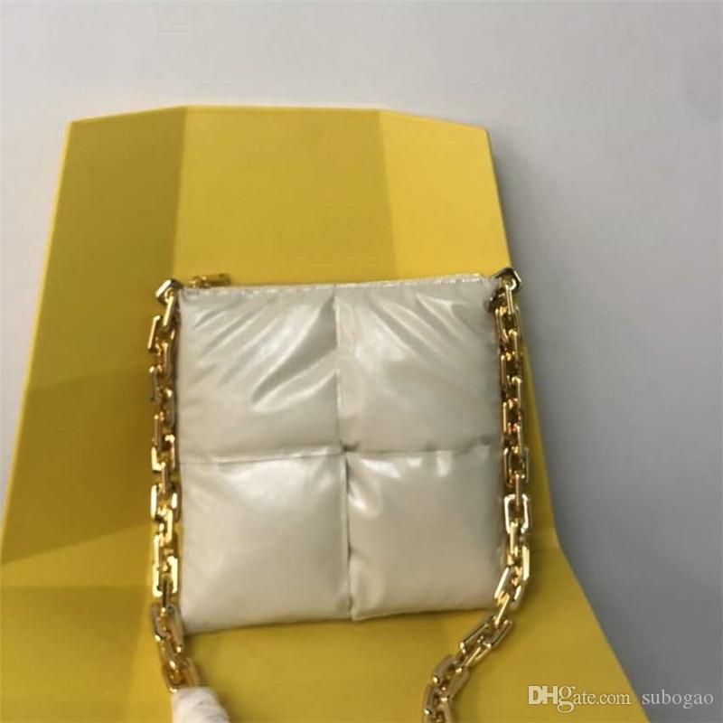 Melhores amigas presentes famosos designers ombro sacos grossos cadeias travesseiro Bollle Bottega vbags branco liso thread thread handbags grátis drop ship # 2