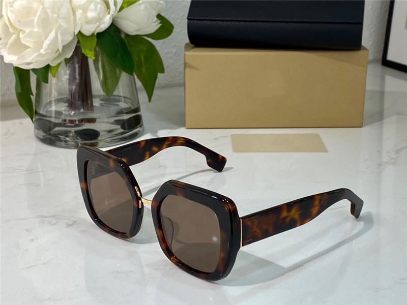 4315 Nuovi Occhiali da sole quadrati di moda unisex con specchio anti-ultravioletto Specchio Specchio Colore Lente Uso il foglio superiore per creare cornice quadrata