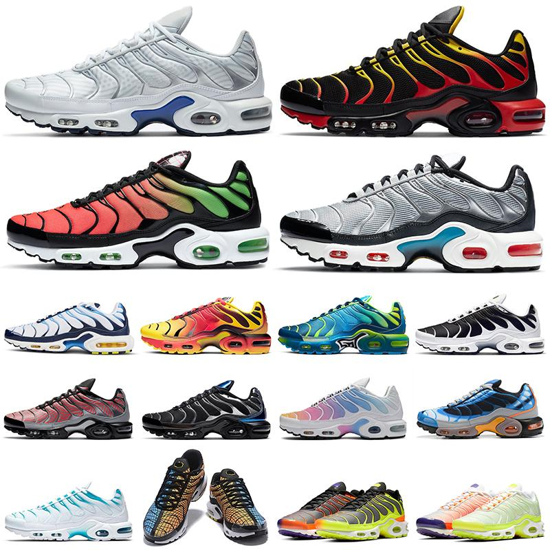 2020 tn plus running shoes tns mens Triple White Black Worldwide Greedy womens Breathable fashion sports sneakers trainers outdoor
