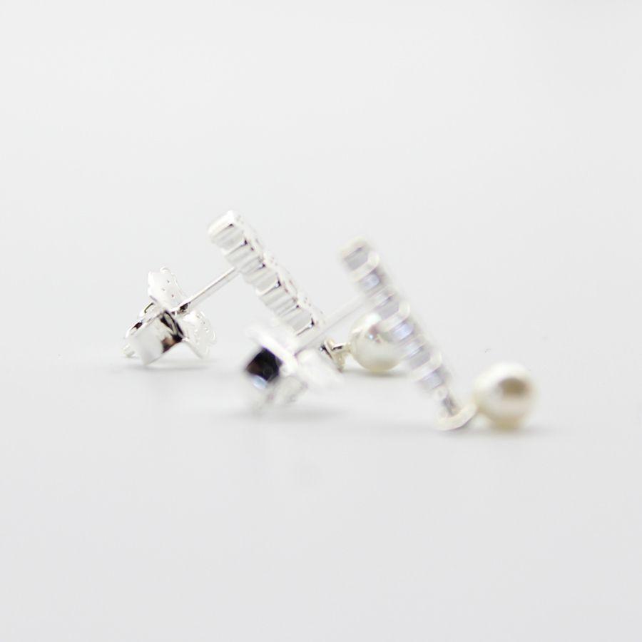 Solido argento 925 Orecchini del cerchio ciondola Brincos per le donne di marca 925 boucle d'oreille femme mujer pendientes moda 1021