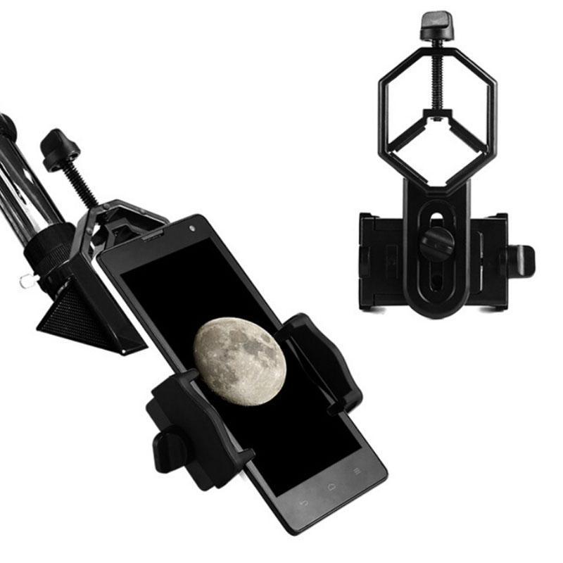 العالمي الهاتف الخليوي الهاتف محول جبل احادي العين مجهر إكسسوارات محول تلسكوب موبايل كليب 10PIECES ملحقات القوس