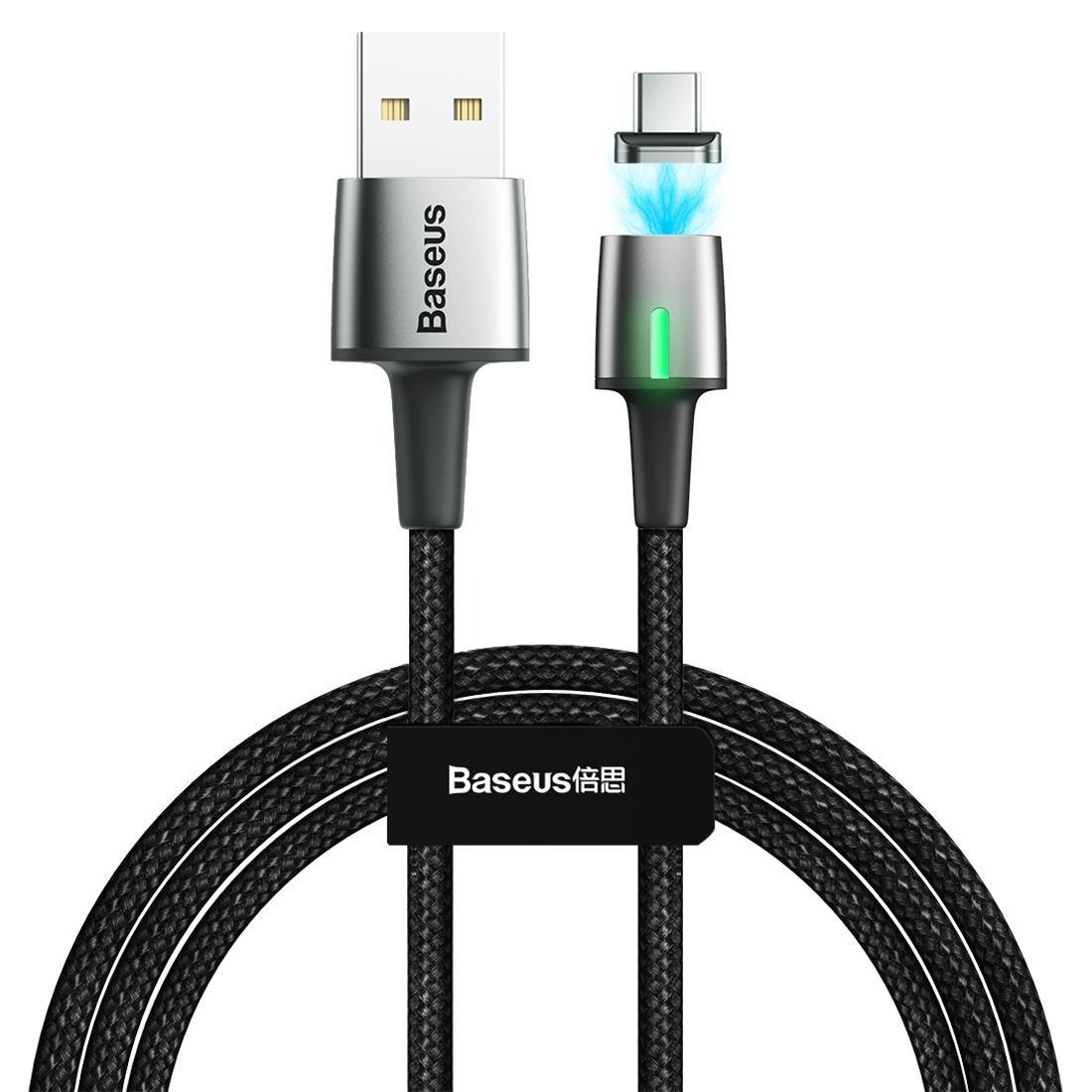 Baseus 2A USB de type C-C de zinc de charge magnétique Longueur de câble 2m