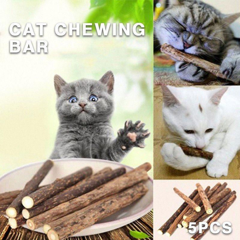 7g Pet Snack cataire Cat Chewing bâton long comestible Effet Pet Molars Lèche Cat Zd9j #