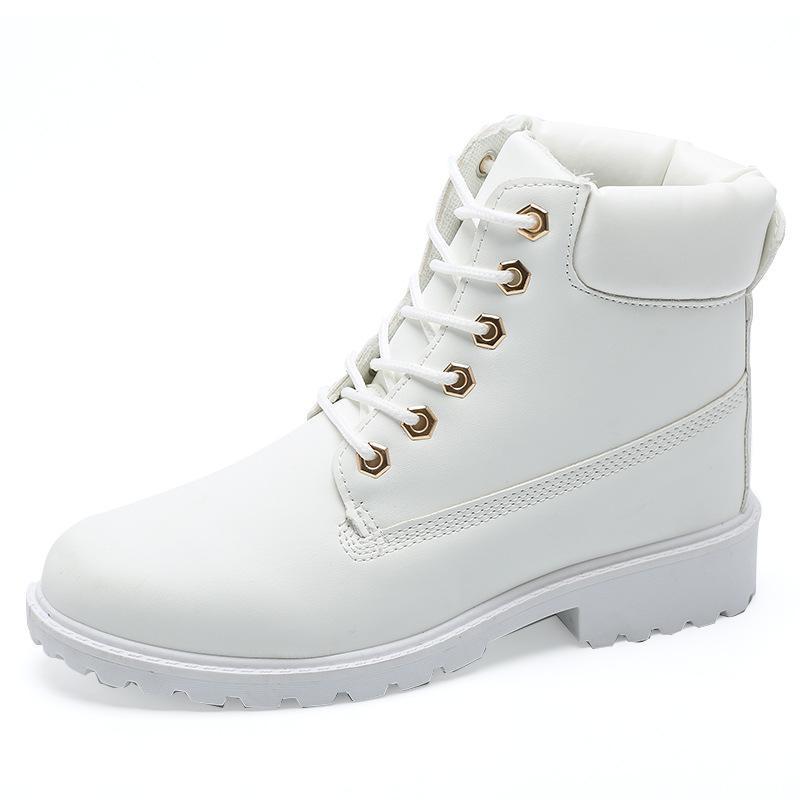 Botas de neve mulheres sapatos não deslizamento mulheres botas 2020 novo lace-up impermeável inverno casual plus tamanho inverno sapatos senhoras