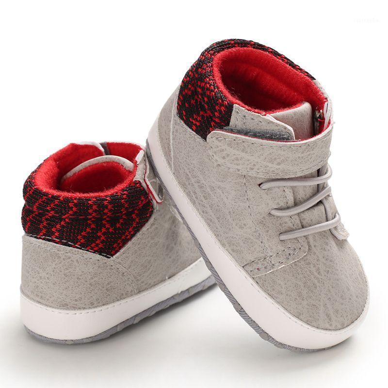 Младенческий малыш ребёнок девочка обувь холст обувь первые ходунки мягкие подошвы детские мокасины спорта1
