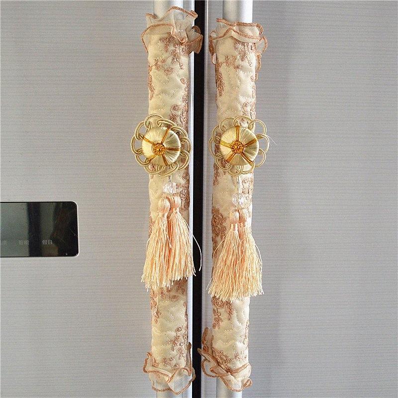 Kitchen Appliance Poignée Couvercle Décor Smudges porte Réfrigérateur avec porte du four Bouton Covers Ménage Gardez les traces de doigts lcjN #