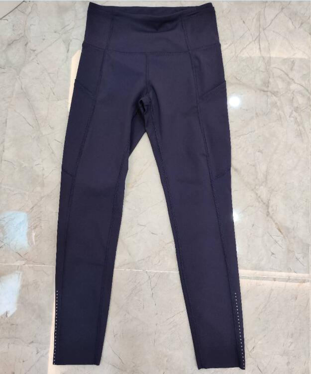 2020 delle donne 2 pantaloni a vita alta pacchetto Gya corso Leggings allenamento per le donne con le tasche
