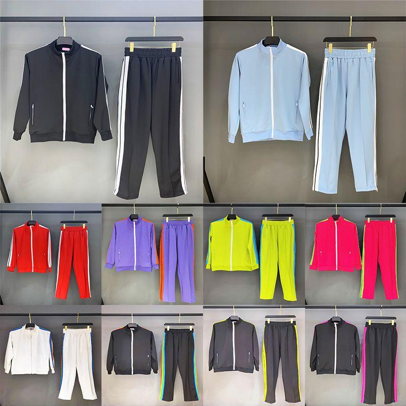 2021 رجل إمرأة رياضية سوياتشيرتس الدعاوى الرجال العرق دعوى معاطف الرجل مصمم جاكيتات هوديس الأزواج السراويل البلوز لاعبا sportswear pa2022