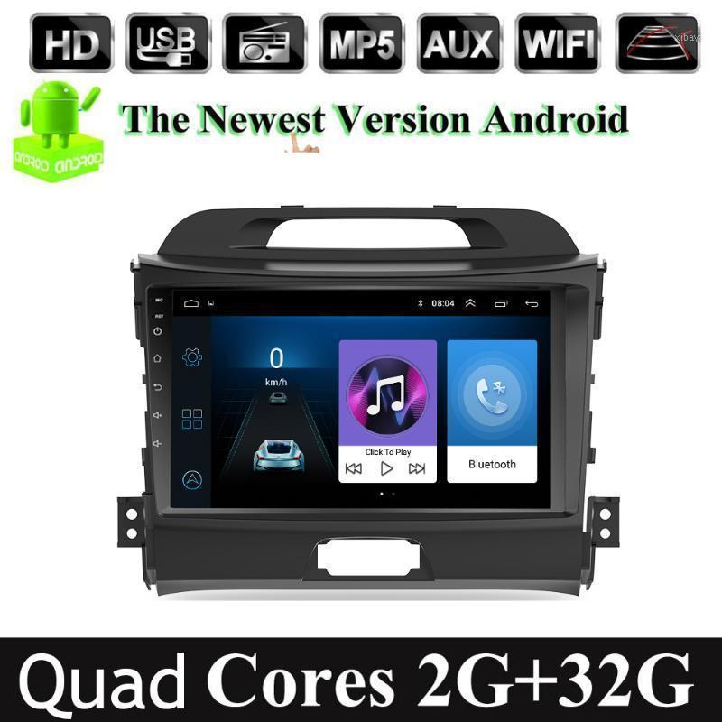 9-дюймовый автомобиль Android 9.1 2 DIN автомобиль Мультимедийный проигрыватель DVD для Kia Sportage 2010 2011 2011 2012 2013 2014 2015 Headunit GPS навигация1
