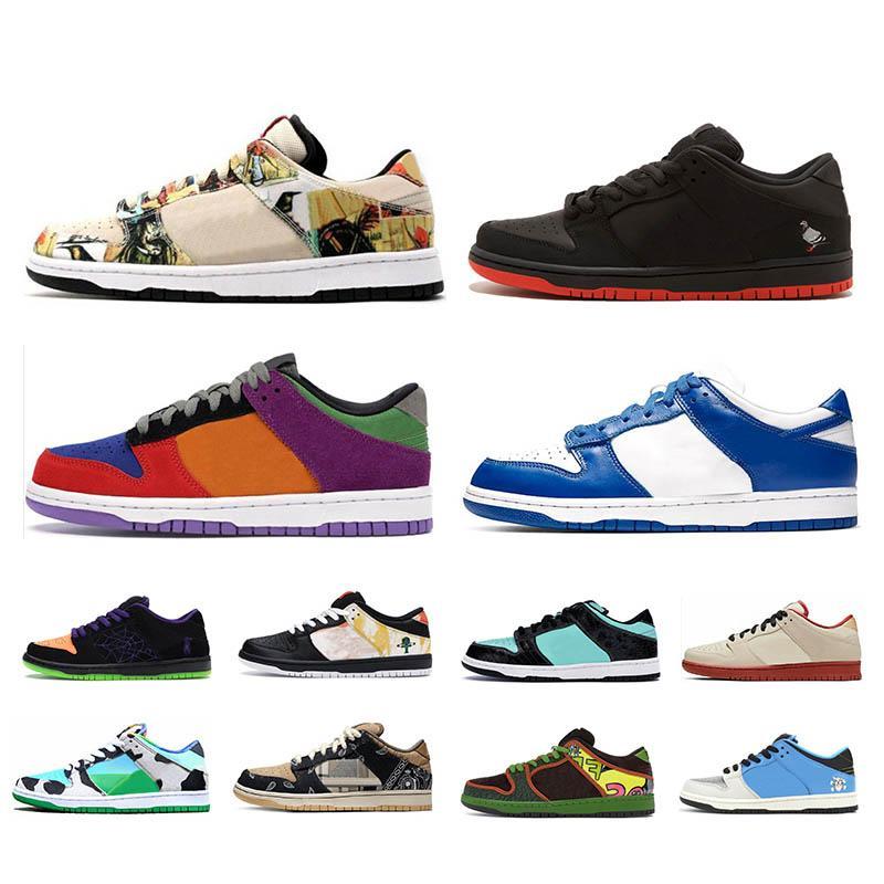 SB dunk Womens Koşu ayakkabı Üçlü Siyah Huaraches Nefes Eğitmenler Sneaker Ayakkabı Boyutu 36-45