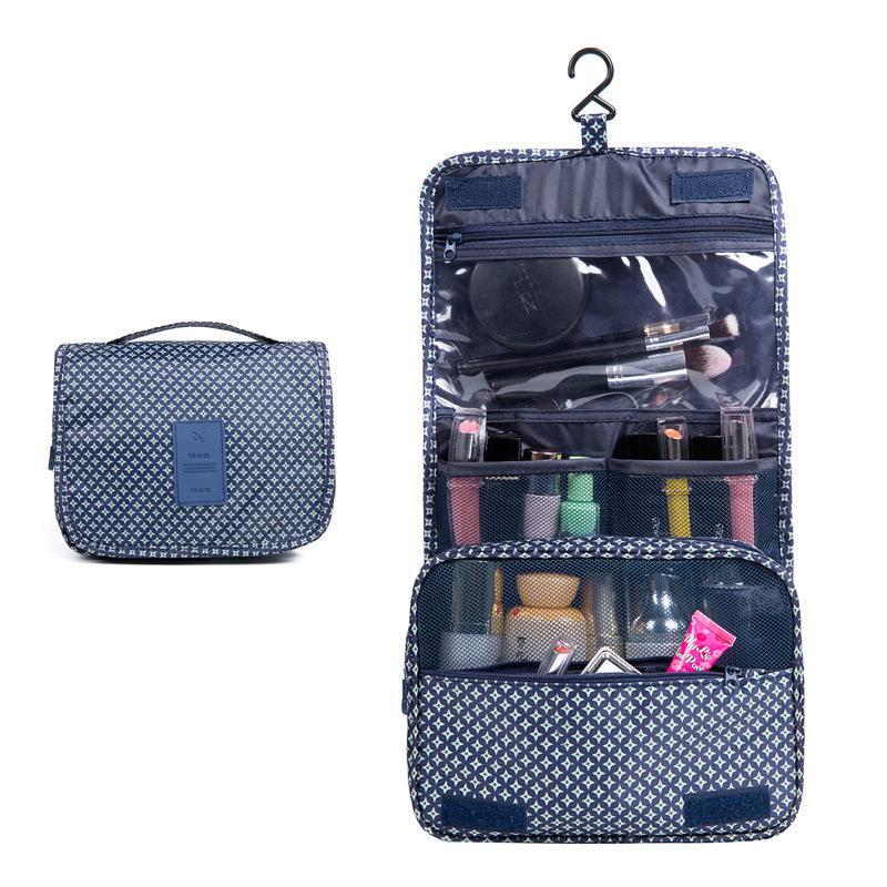 24 * 10 * 19см макияж мешок прямоугольник волшебные палочки косметические ткани сумка путешествия портативный DIY организатор хранения сумки крюк горячие продажи 6 8YF G2
