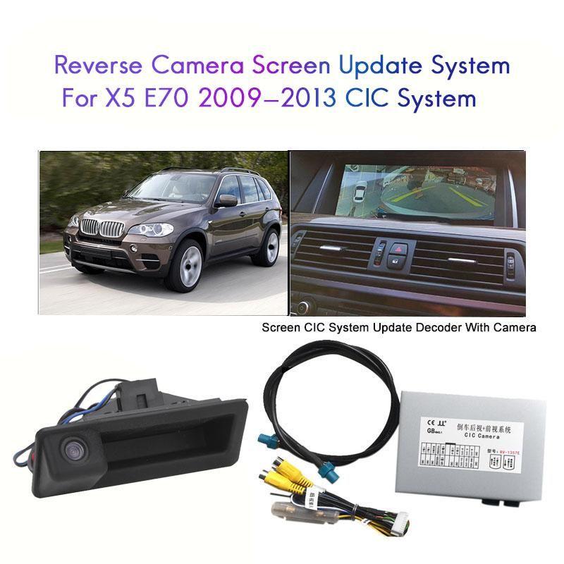 Kfz-Rückansicht-Kameras-Parking-Sensoren Kamera-Schnittstelle für- x5 E70 2009-2013 SN-CIC-System Umkehrendecoder-Modul