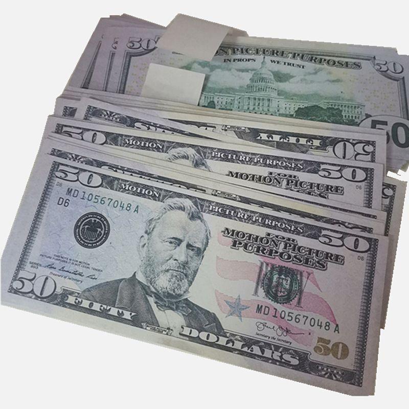 Muestra de divisas Showing Copy Props Magic 8G Juguetes Película Dinero de los niños Dollar Dollar Bill Gift Fake Shipping Fast Gxtkk