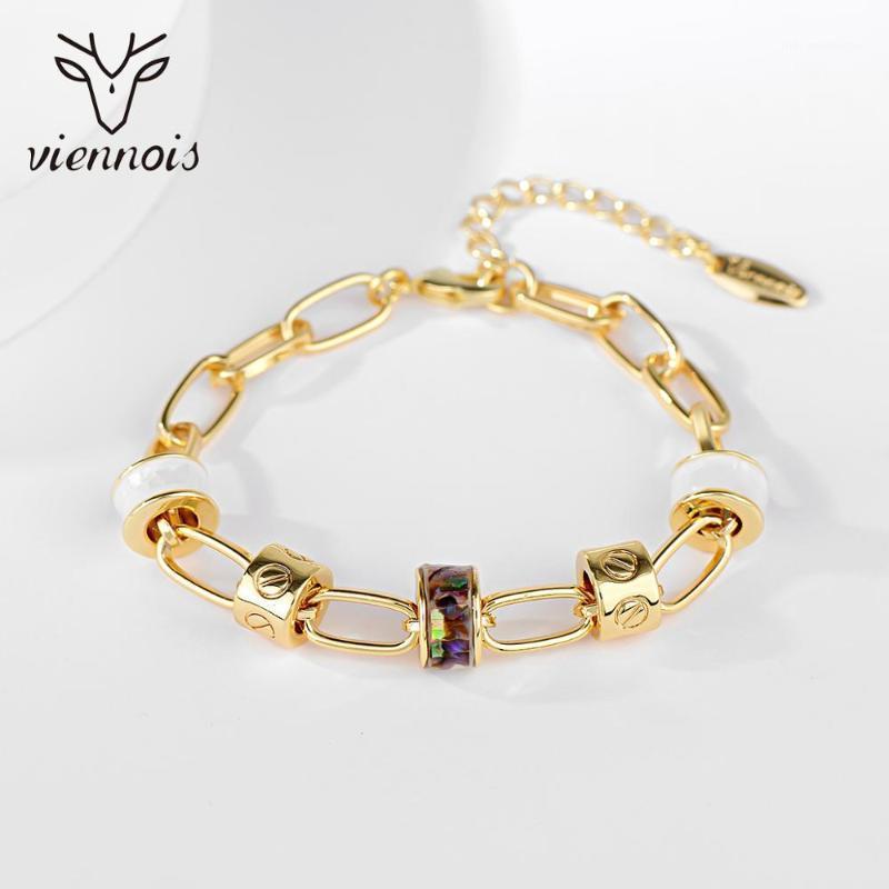 Bracelet de bracelet perlé viennois pour femme cadeau de mariage bijoux de mode de mode original charme bijoux1