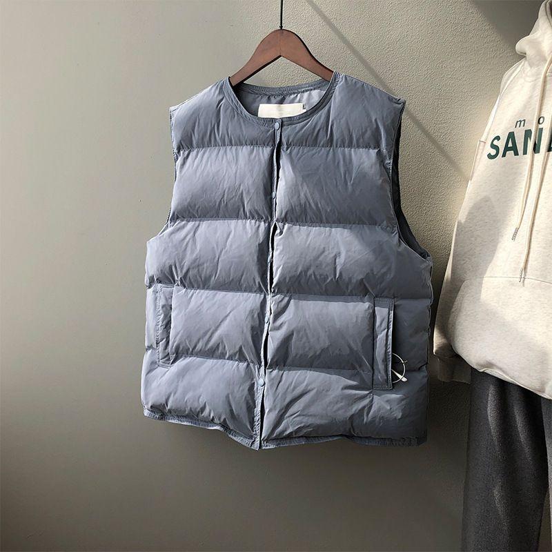 Winter 2020 New dicke Daunen Cotton Frauen Warm koreanische lose Weste Weste-Jacke 3090