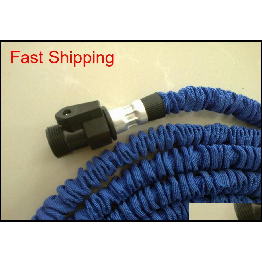 25ft Hose Expandable & Flexible Water Garden Hose Pipe Flexible Water Blue And Green qylNNA bde_luck