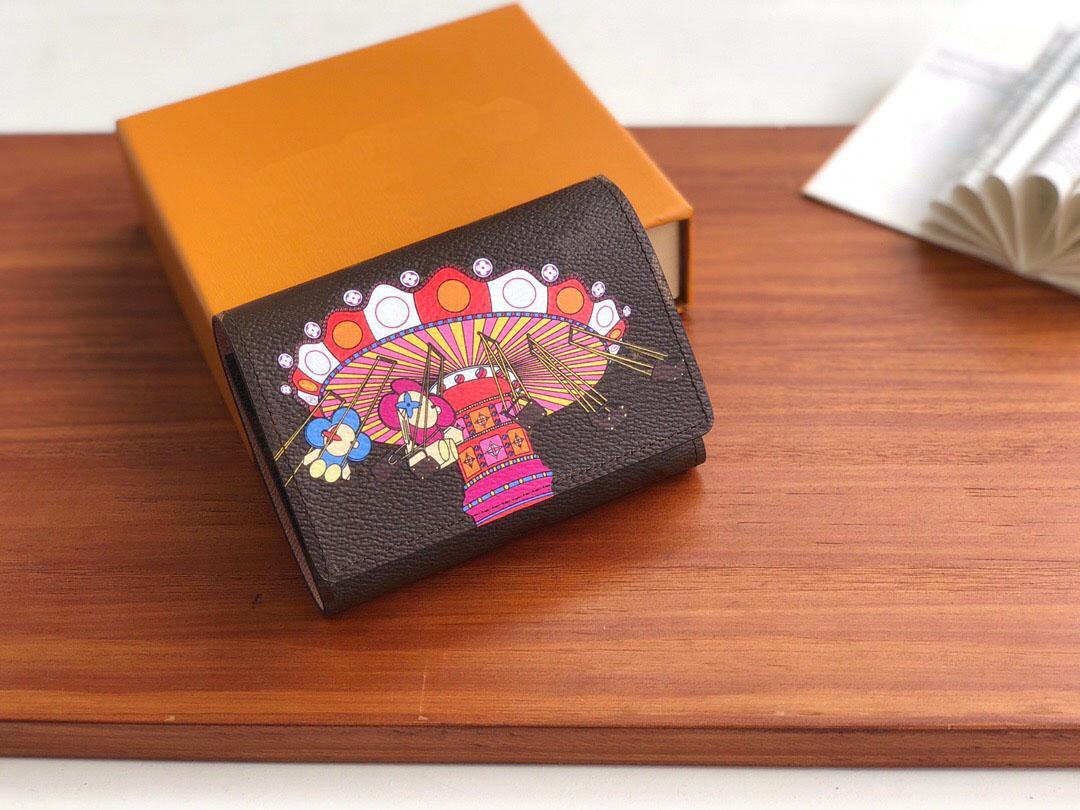 Berühmte Designer Brieftasche Mode Leder für M69754 Männer und Frauen, Brieftasche, Luxus-Tasche, Tasche Designer Klassisches Buch, Passport-Taschenkarte Cha Pogu