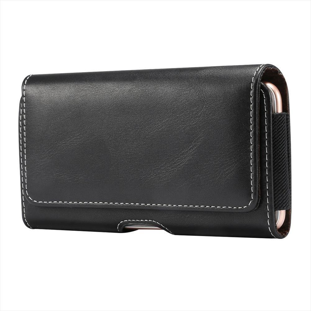 Marka 4.7 ~ 6.9 İnç Erkekler Bel Telefon Kılıfı Çanta Paketleri 5 Boyut Kemer Klip Vaka Bel Çantası Litchi Tahıl Cep Telefonu Çanta Fanny
