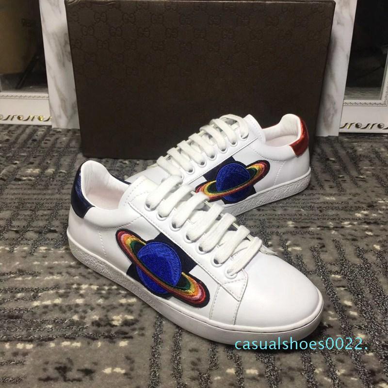 Lüks ayakkabı erkekler iskarpin Aşıklar Desen Lüks Markalar Tasarımcı Dantel-up Koşu Ayakkabı Kadınlar Casual Tasarımcı Ayakkabı c22