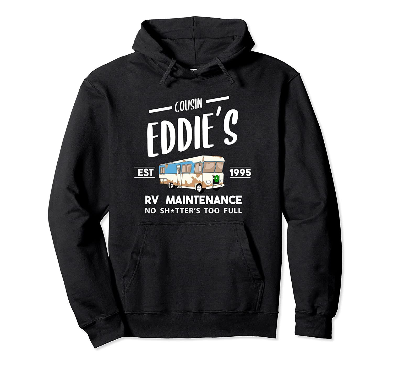 Kuzen Eddie'nin RV Bakım Çöplüğümüze Tam Komik Tatil Kazak Hoodie Unisex S-5XL Siyah / Gri / Lacivert / Kraliyet Mavi / Koyu Heather