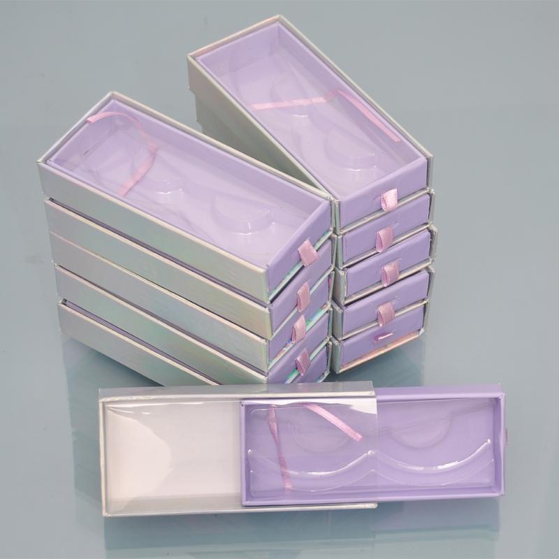 Großhandel Wimpern Verpackungsbox Peitsche Boxen individuelles Logo Verpackung faux cils 25mm Nerz Wimpern magnetische Zugeinrichtung Fall Bulk-Anbieter