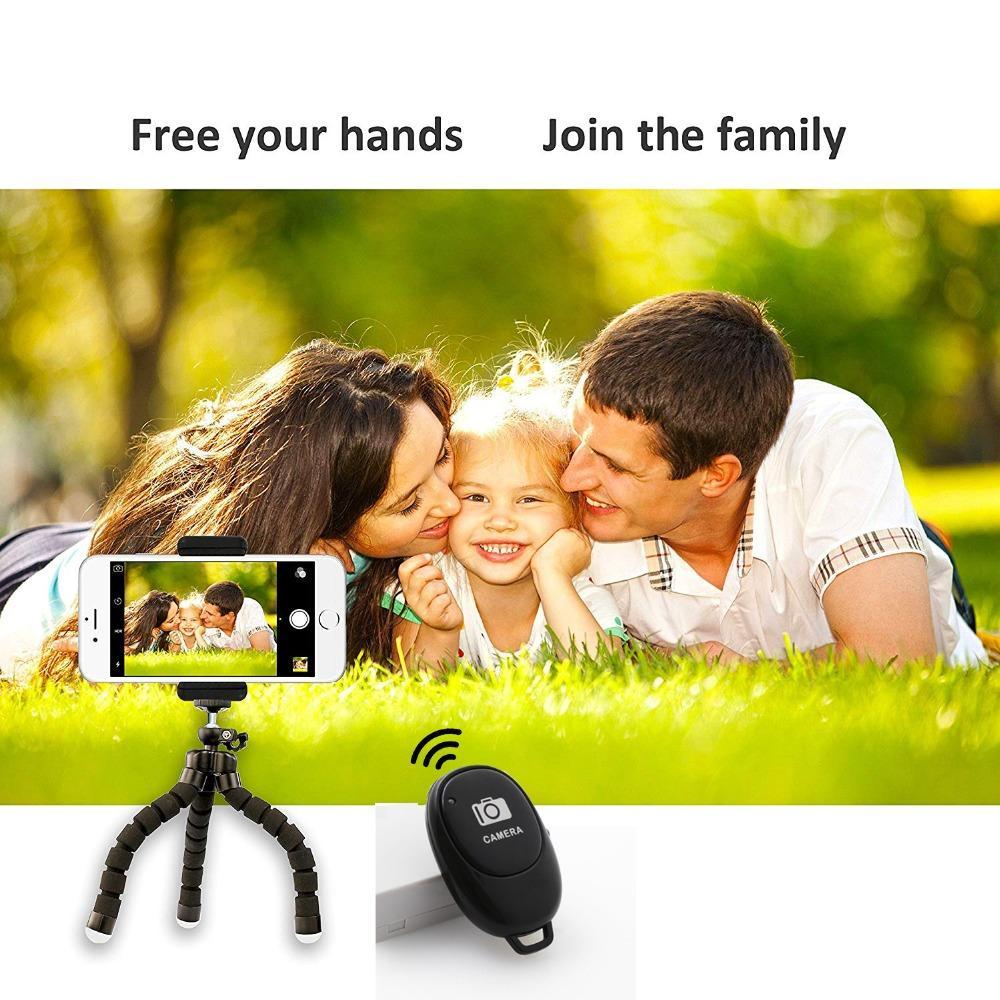 Sans fil Bluetooth 4.0 Caméra à distance selfie Shutter pour Smartphones 10M Contrôle Retardateur Livraison gratuite par DHL