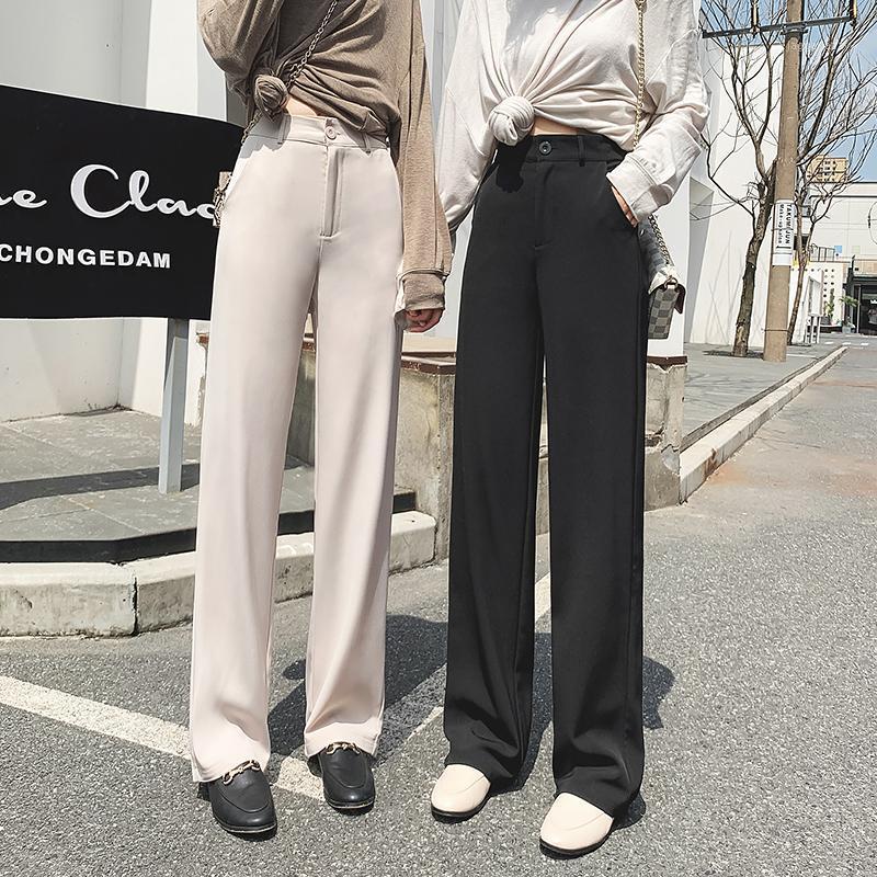 Terciopelo de invierno gruesa nueva pierna de ancho recto pantalones de mujer de otoño streetwear chic pantalones mujeres cintura alta talla grande1