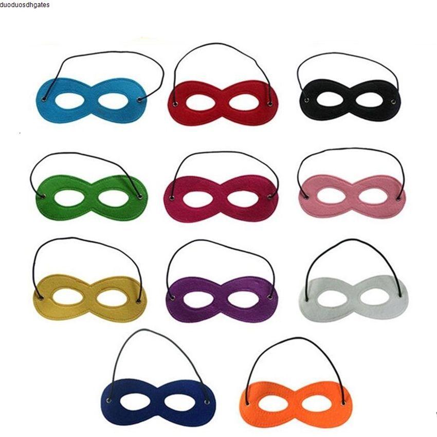Cadılar Bayramı Cosplay Parti Masquerade Çocuk Keçe Dekorasyon Superhero Cape Performans Maske