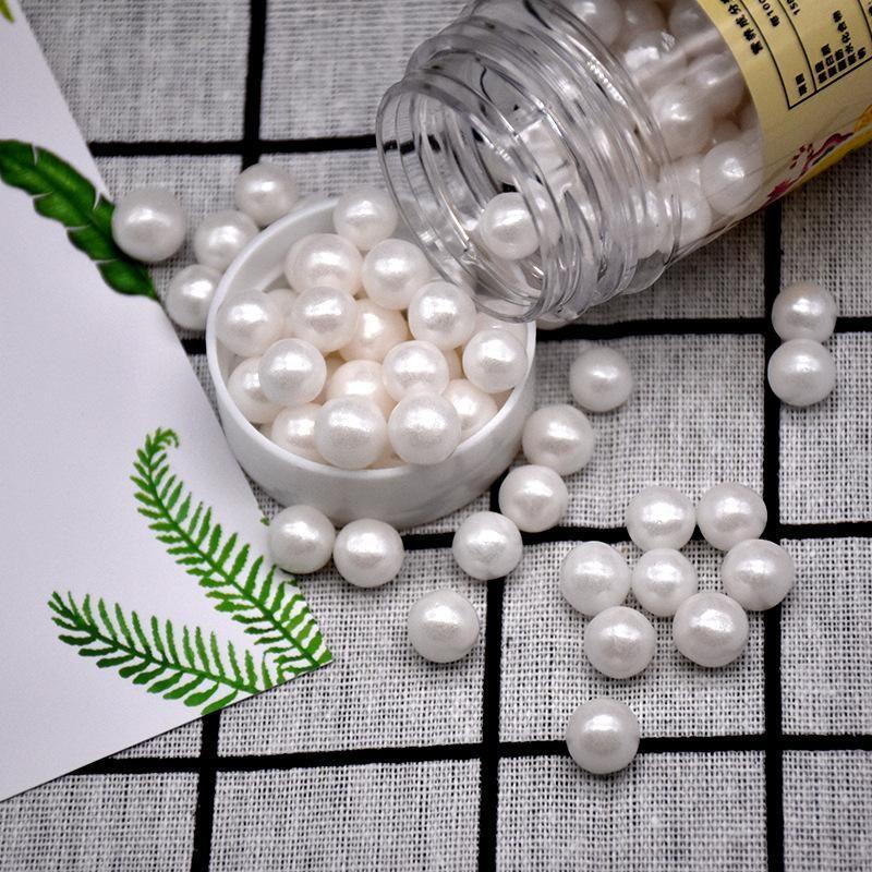 Strumenti della decorazione della torta torta Perline Bianco 85g commestibile Sprinkles Per Pearl Zucchero sfera del fondente Diy cottura Candy Wedding