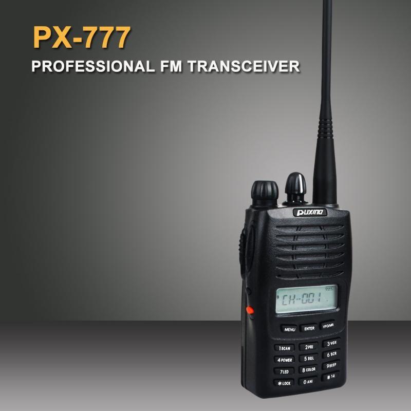 Puxing Walkie Talkie PX-777 VHF 137-174MHz 5W 128CH VOX-tragbare Zwei-Wege-Radio-Pixel