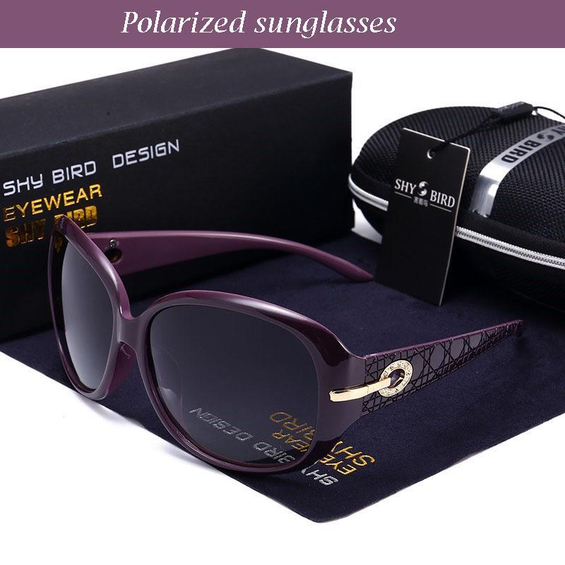 الجملة إمرأة جديد مصمم الفاخرة الاستقطاب النظارات الشمسية للمرأة الرجعية النظارات الشمسية الكلاسيكية الماس القيادة النظارات مع مربع