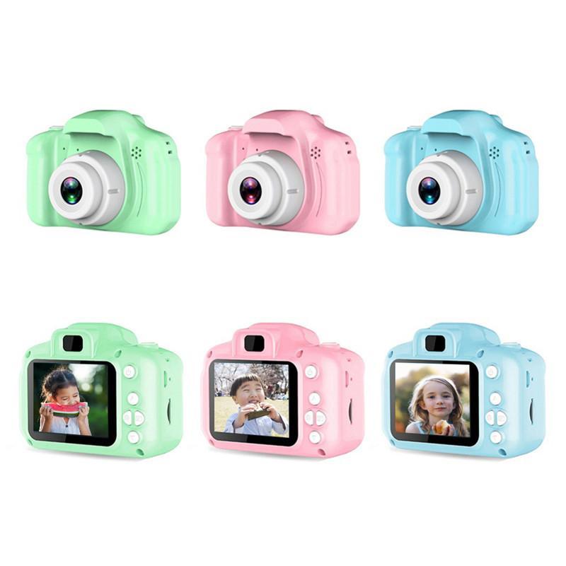 2 pouces HD 1080P Chargable Numérique Mini Caméra Enfants Dessin animé Caméra mignon Jouets Jouets de photographie en plein air PROPS POUR L'ENFANT Cadeau d'anniversaire