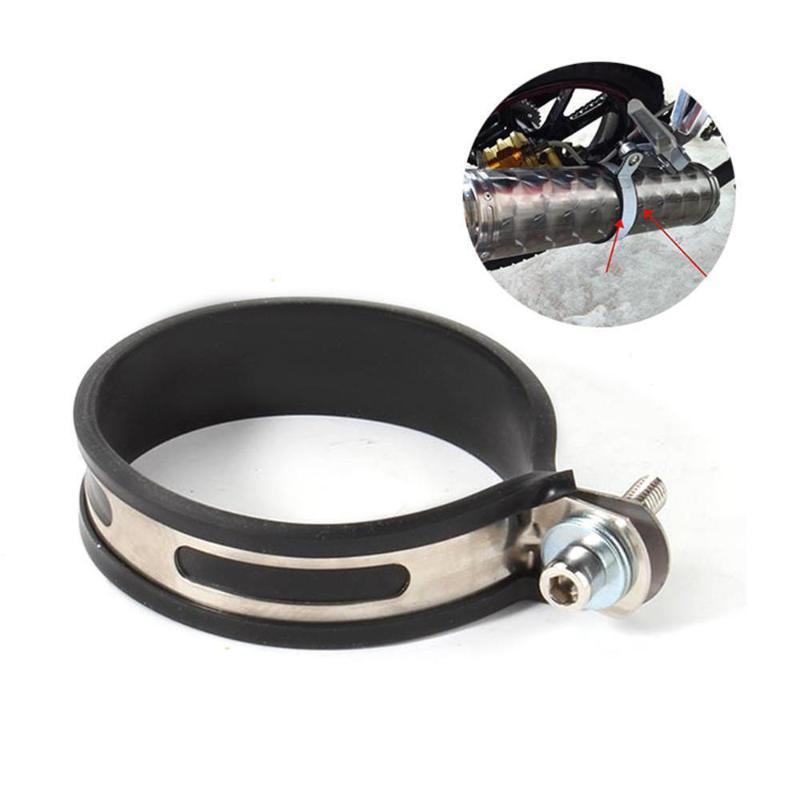 Система выхлопной системы мотоциклов 11см трубы держатель глушителя зажим фиксированного кольца поддержки кронштейна крепления с винтами