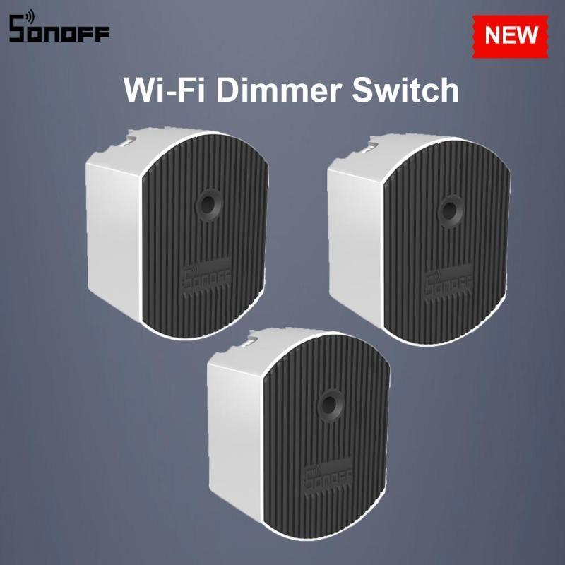 3/5 / 10PCS Sonoff D1 DIY Wifi Smart Switch REHOSTAT Commutateur RF 433Mhz Contrôlé par eWeLink APP Google Accueil Alexa