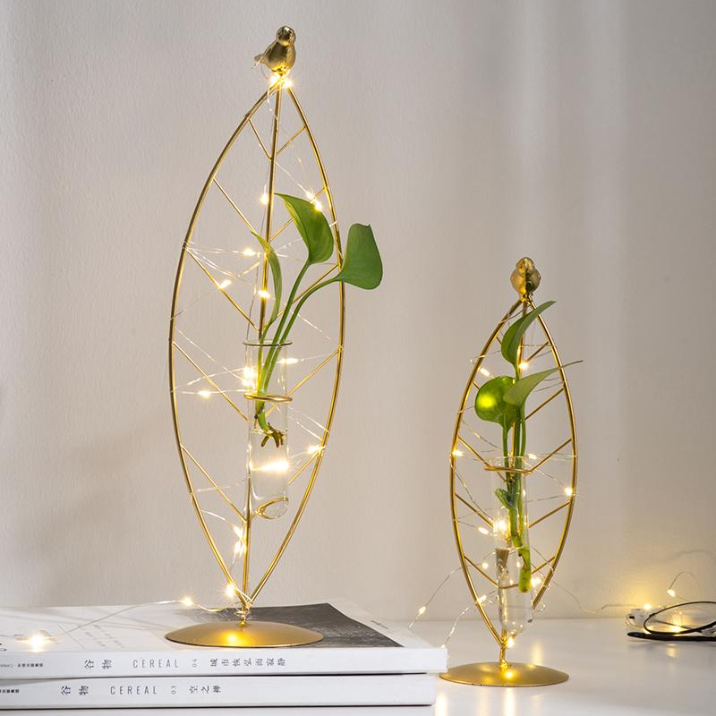 Home Decoration Accessories flower vase decoration home Terrarium Glass Vases test tubes for flowers Flowers Living Room