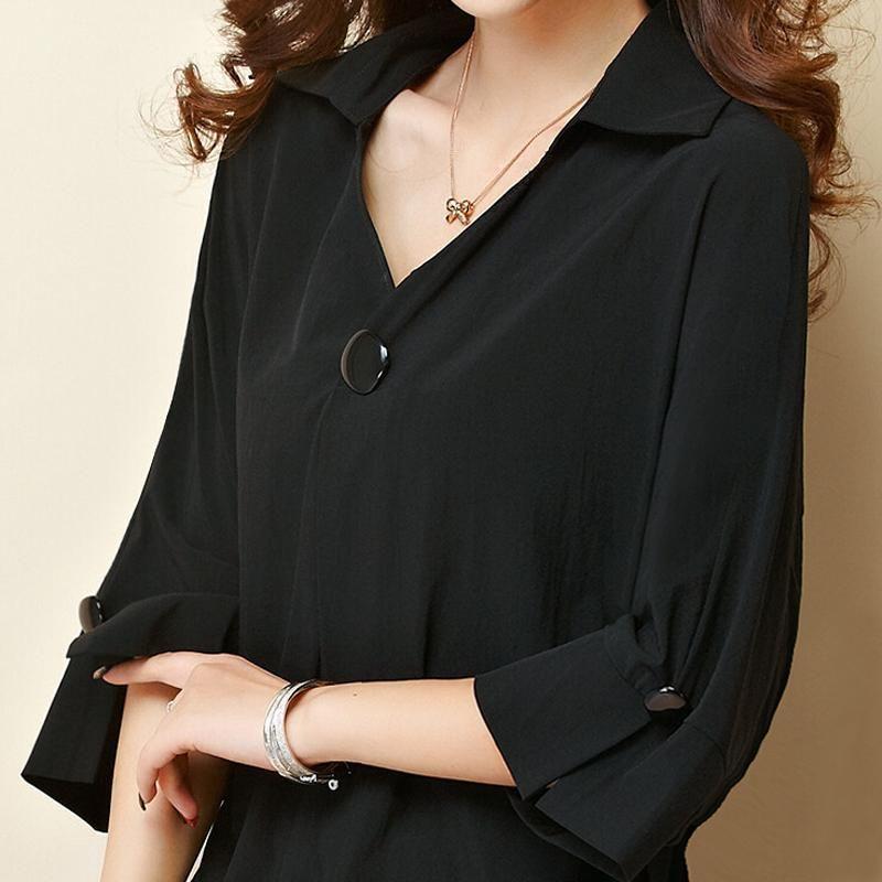 Women's t-shirts Overweight Plus Size Women Clothing Summer Style Chiffon Shirt Top Tee Woman Tees Tops Oversize Women's t-shirt