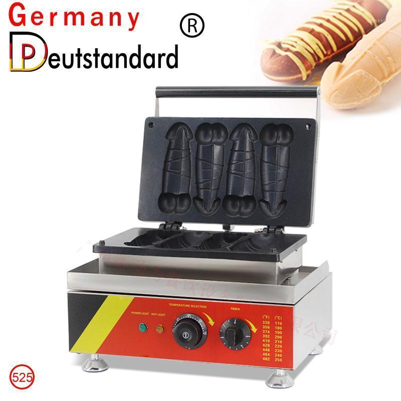 Хлебные производители выпечки машина Penis Waffle Maker с CE1